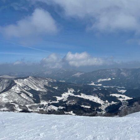 私をスキーに連れてって・・・